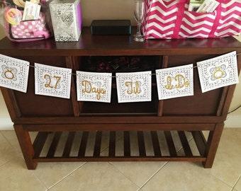 Bridal Shower Doile Banner