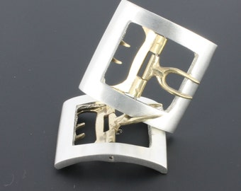 "Pewter ""Midshipman"" Buckle"
