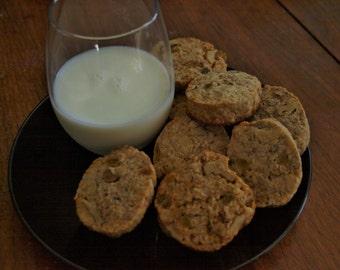 Energizing Oatmeal Cookies