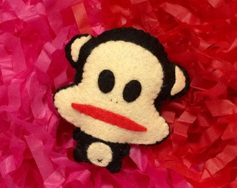 Little Cute Felt Paul Frank Doll