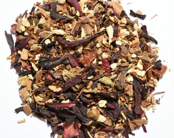 Scarlet Chai Organic Herbal Infusion