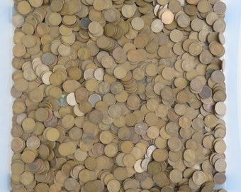10x 1920s Lincoln Wheat Penny ~ Vintage Collectible US Coins for Jewelry or Copper Bullion Investment ~ 10 Pennies Randomly Selected
