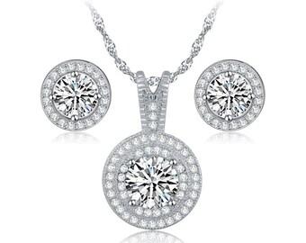 Classic Wedding Jewelry Set