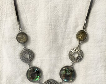 Western Style Medallion Necklace