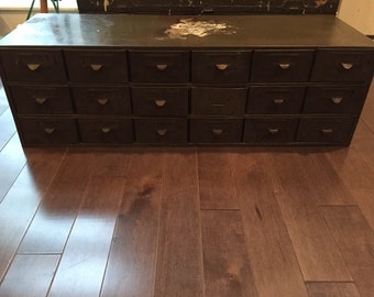 SOLD Industrial Metal Drawers (Pick-up or Local Delivery)