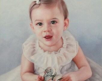 Your Portrait Oil Painting Portrait. Custom Portrait. Custom Oil Painting. Custom Painting. Commission portrait. Photo to Painting.