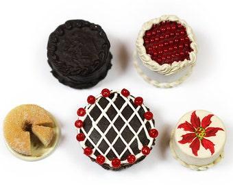BULK 5 x Miniature Cakes