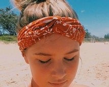 Vintage 'carmen' turban headband