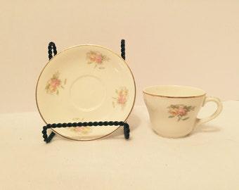 Vintage Petite Demi Cup & Saucer
