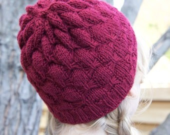 Wool Pom Hat