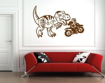 Dinosaur lego jurassic world/rator/velociraptor/delta/blue/ wall film room sticker