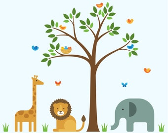 Safari Baby Decor, Safari Decor, Safari Nursery Decor - Large
