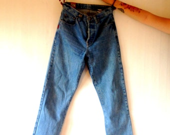 Vintage denim high waist jeans 36/S