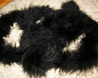 black or white fluff boa ostrich feather boa marabou