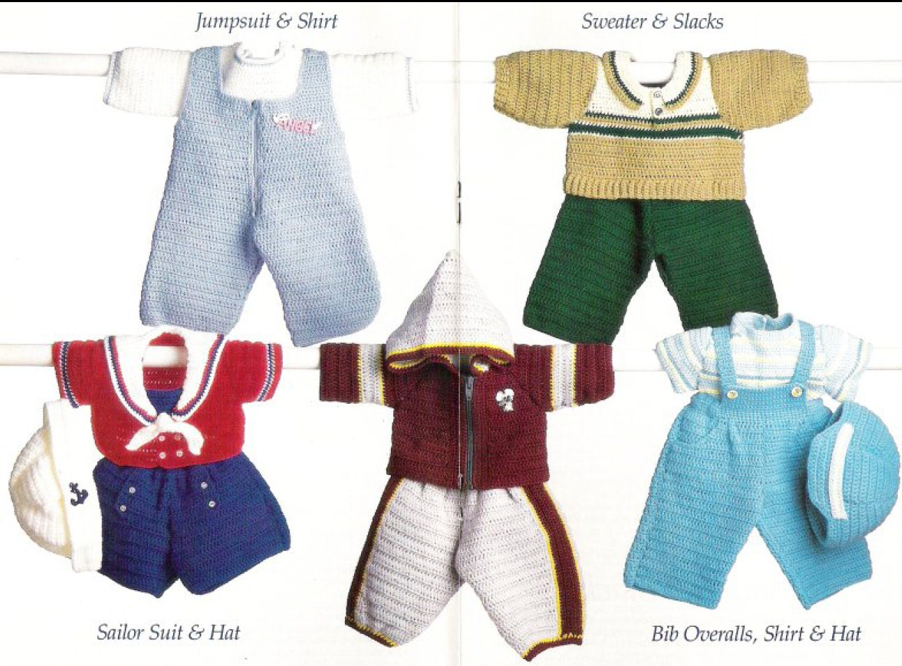 vintage baby clothing patterns crochet patterns by