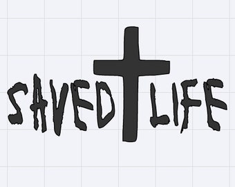 Saved Life Decal - Sticker