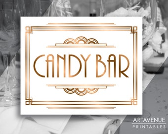 candy bar sign etsy. Black Bedroom Furniture Sets. Home Design Ideas