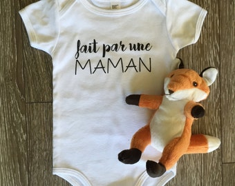 Onesie done by a white MOM 3-6 months
