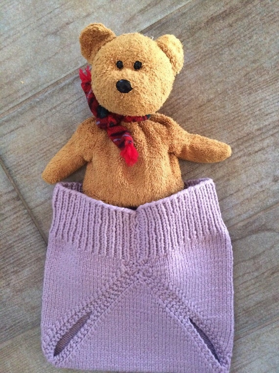 Baby Diaper Cover Hand Knit soft and stretchy Retro Style Summer Comfort