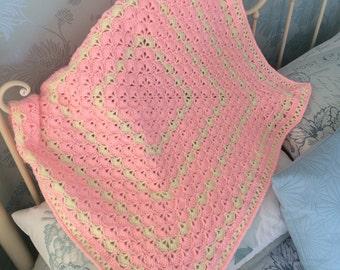 Precious girl crochet blanket