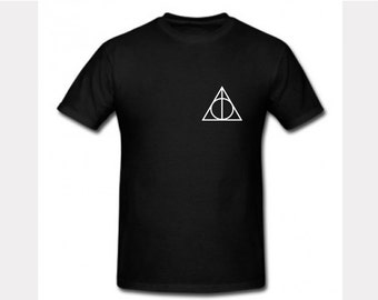 Harry Potter Deathly Hallows symbol T- Shirt Adult and Child T-shirt
