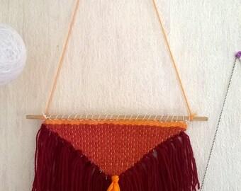 Weaving wall boho