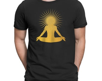 Third Eye Meditation Buddha - Mens T-Shirt