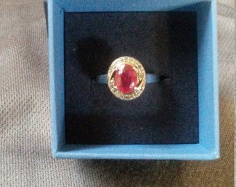 Genuine Ruby Ring