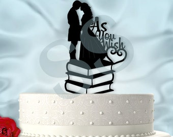 As You Wish Wedding Cake Topper