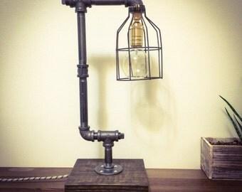 Industrial Pipe Lamp - The Julian