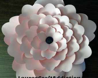 Giant Wall Flowers, Cut files, Wall Flower, Giant Flowers, Paper Flower, Paper Flower svg, Large paper flower, flower backdrop, Party Décor