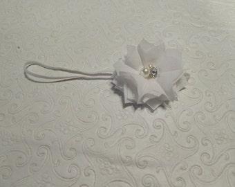 Pansy Chiffon Flower Headband