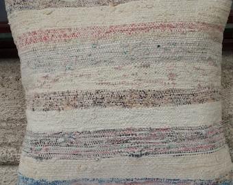 kilim pillow,pillow cover,trendy pillow,decorative pillow,turkish sofa pilllow 40x40 cm ( '16x'16 inc) ( 158)