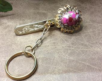 Vintage King's Key Finder Key Ring