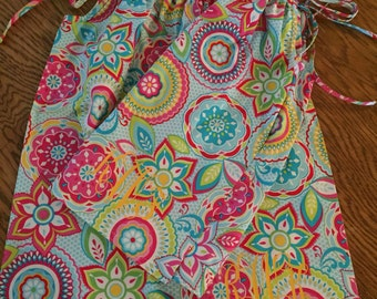 Custom Girls Pillowcase dress sizes 6 months to 8