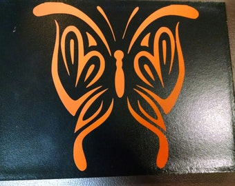 Butterfly vinyl decal