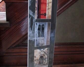 set of two 3 opening matt photo art of doors