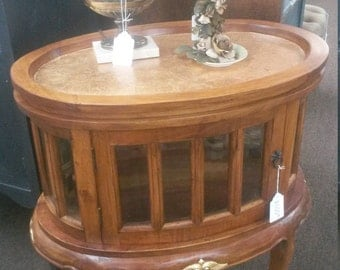 Antique Serving Table Hand Made