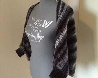 Crochet shrug size M