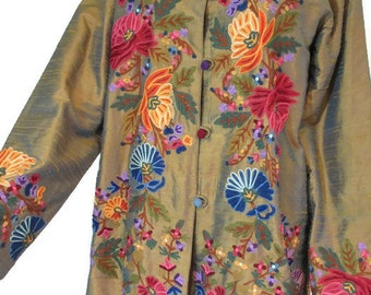 Stylish Embroided Jacket