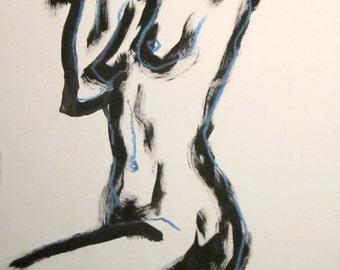 Nude sketch 6