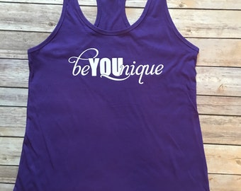 beYOUnique Tank! Younique Tank/Gear! Direct Sales/Build your business!