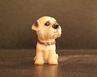 Mini Puppy Figurine #12 - 2""