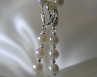 Akoya pearl earrings Sterlingsilber925 Akoya pearl earrings