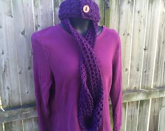 Infinity Scarf - Purple