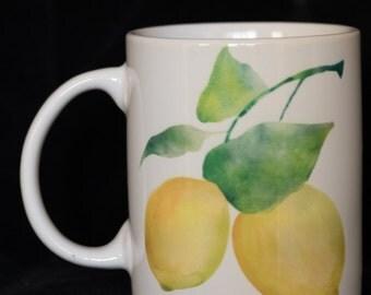 11oz Mug, Nature's Bounty, Lemons