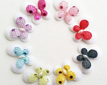 Butterfly padded appliques - Sequin applique