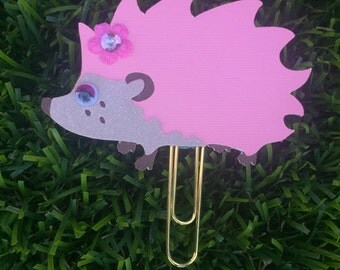 Hedgehog planner clip