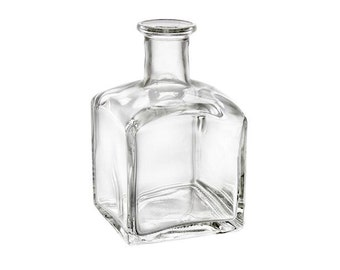 10 Square Glass Diffuser Bottle | DIY Reed Diffuser | 7.1oz (210ml) - SET of 10