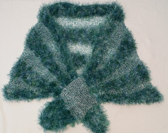 Blue/Green Evening Shawl